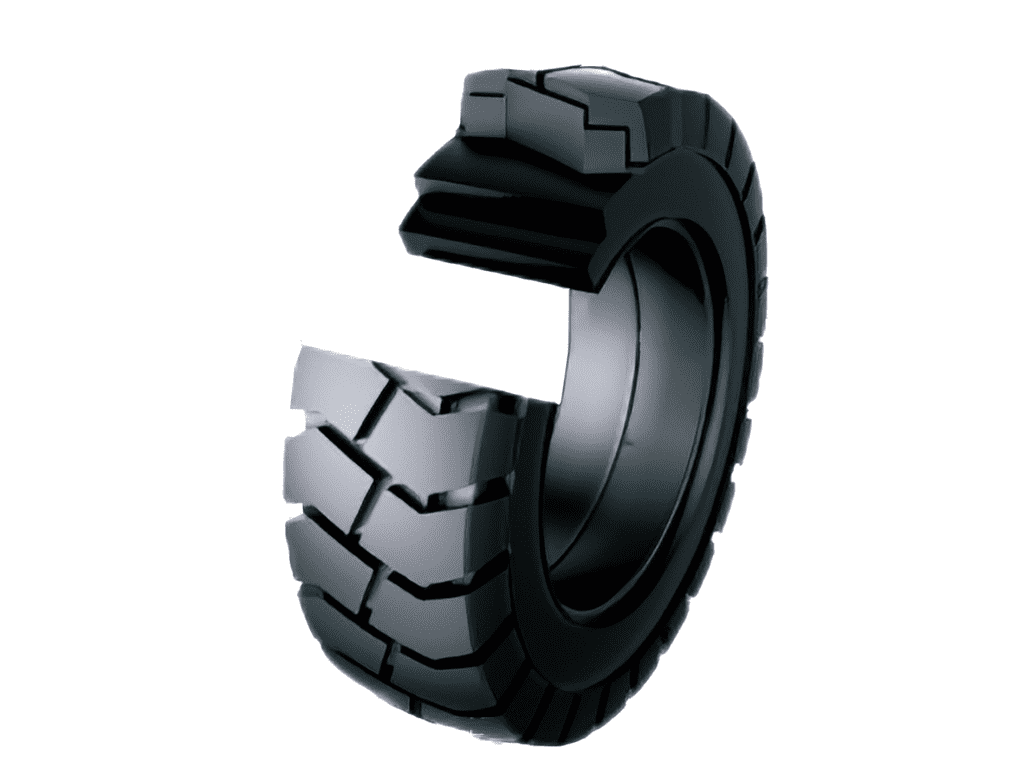 solid tyre construction
